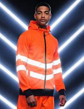 Pro Hi-Vis FZ Extol Stretch Hoodie Jacket